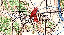 Unsan Map